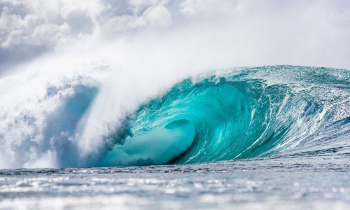 PIPELINE, HI - DECEMBER 8: Excellent conditions for the trials of the Billabong Pipe Masters at Pipeline on December 8, 2020 in Kapalua, Hawaii. (Photo by Tony Heff/World Surf League via Getty Images)