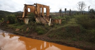 Mariana (MG) - Ruínas em Paracatu de Baixo, distrito de Mariana, dois anos após a tragédia do rompimento da Barragem de Fundão, da mineradora Samarco (José Cruz/Agência Brasil)