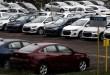 Os carros são retratados na fábrica da General Motors Co, que concederá folga a seus funcionários durante o surto de doença por coronavírus (COVID-19), em São José dos Campos