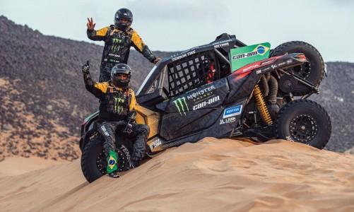 Brasil finaliza rali Dakar com vitória na última das 12 etapas