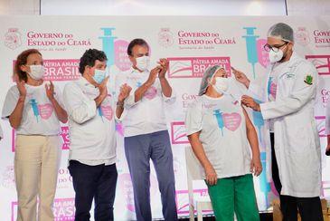 Vacinação covid-19 Ceará