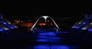 iluminação do Sambódromo,