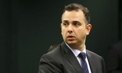 Brasília - O deputado Rodrigo Pacheco (PMDB-MG) é eleito presidente da Comissão de Constituição, Justiça e Cidadania da Câmara dos Deputados. (Marcelo Camargo/Agência Brasil)