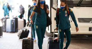Seleção feminina se apresenta nos EUA para torneio She Believes
