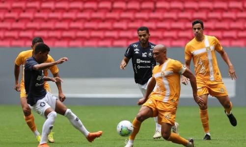 Brasiliense x Remo jogam no Estádio Mané Garrincha pelo Campeonato Copa Verde