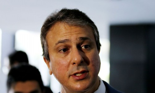 Entrevista do governador do Ceará, Camilo Santana, após encontro com o ministro da Justiça e Segurança Pública, Sérgio Moro.