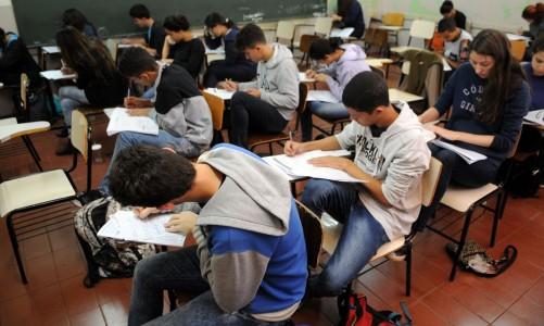 Estudantes brasilienses concluem simulado do Enem Colégio Setor Oeste, Asa Sul, Brasília, DF, Brasil 7/7/2016 Foto: Gabriel Jabur/Agência Brasília.