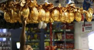 Brasília - Compra de ovos de páscoa em lojas de Brasília. (Marcelo Camargo/Agência Brasil)