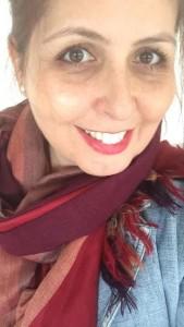 Andrea Mello Diniz sofreu com cólicas por 34 anos até ter a endometriose diagnosticada - Arquivo pessoal/Andrea Mello Diniz (Reprodução)