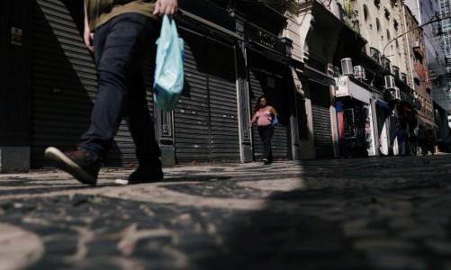Região central do Rio de Janeiro 1/9/2020 REUTERS/Ricardo Moraes