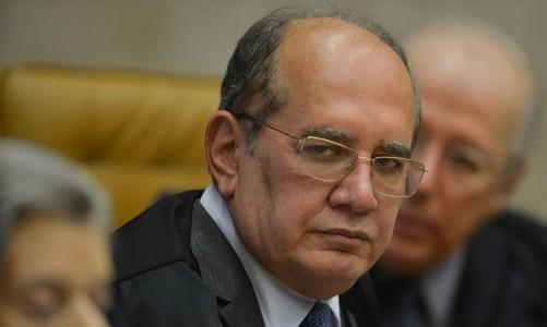 O ministro Gilmar Mendes, durante julgamento da validade de prisão em segunda instância