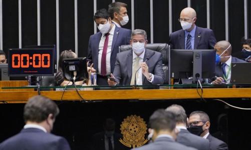Votação de propostas. Presidente da Câmara, Arthur Lira (PP - AL)