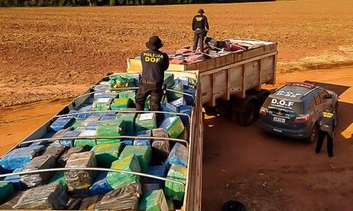 Operação Hórus realiza maior apreensão de drogas do País Operação do programa VIGIA do Ministério da Justiça e Segurança Pública em parceria com o Estado do Mato Grosso do Sul apreende 33 toneladas de maconha em Maracaju (MS)