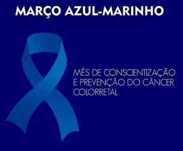 Campanha Março Azul alerta sobre riscos do câncer colorretal