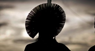 São Félix do Xingu (PA) - Cerca de quatro mil indígenas participam da Semana dos Povos Indígenas. O evento começou no sábado (15) e vai até quarta-feira (19), quando é celebrado o Dia do Índio (Thiago Gomes/Agência Pará)