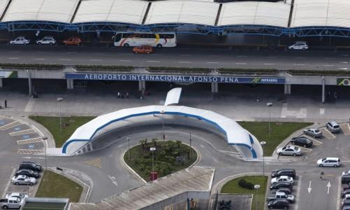 Curitiba - Aeroporto Afonso Pena (Divulgação/Portal da Copa)
