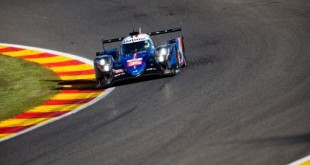 36 Negrao André (bra), Lapierre Nicolas (fra), Vaxivière Matthieu (fra), Alpine Elf Matmut, Alpine A480 - Gibson, action during the Prologue of the 2021 FIA World Endurance Championship on the Circuit de Spa-Francorchamps, from April 26 to 27 in Stavelot, Belgium - Photo Joao Filipe / DPPI