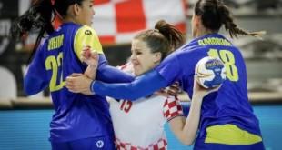 Handebol: Brasil cai para anfitriãs e leva vice em torneio na Croácia