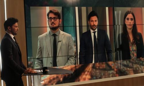O ministro das Comunicações, Fábio Faria, participa do programa Sem Censura, na TV Brasil