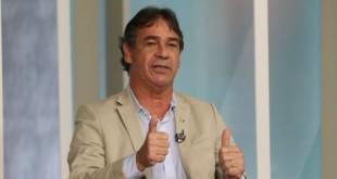 O ex-goleiro Paulo do Fluminense, Paulo Victor, participa do programa Sem Censura, na TV Brasil