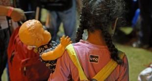 Boa Vista - Refugiados venezuelanos se preparam para deixar Roraima com destino a São Paulo e Cuiabá (Antônio Cruz/Agência Brasil)