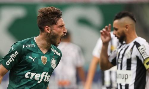 Palmeiras vence Santos e continua vivo no Paulista
