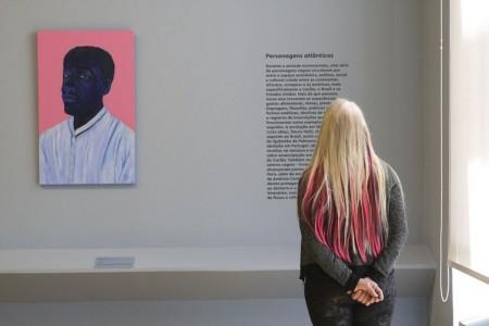 São Paulo - Inauguração da exposição Enciclopédia negra, em que personalidades negras da história são retratadas por 36 artistas contemporâneos, na Pinacoteca de São Paulo.