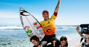 ROTTNEST ISLAND, AUS - MAY 25: Two-time WSL Champion Gabriel Medina of Brazil surfing in Semifinal 2 of the Rip Curl Rottnest Search presented by Corona on MAY 25, 2021 in Rottnest Island, WA, Australia. (Photo by Matt Dunbar/World Surf League via Getty Images)