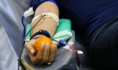 Para marcar o Dia Mundial do Doador de Sangue, Ministério da Saúde lança campanha de doação de sangue, no Hemocentro de Brasília