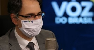O secretário de Telecomunicações interino, Artur Coimbra, participa do programa A Voz do Brasil