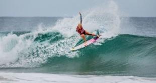 Surfe: Tatiana Weston-Webb vai às oitavas de final em Margaret River