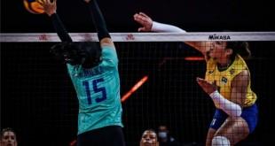 Liga das Nações: Brasil vence Tailândia e fica na vice-liderança Com destaque para Tandara, equipe feminina triunfa por 3 sets a 0
