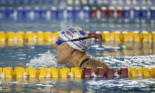 02.06.21 - Suzana Schnarndorf em fase de treinamento seletiva da Natação para Tóquio no CT Paralímpico Brasileiro. Foto: Ale Cabral/CPB.
