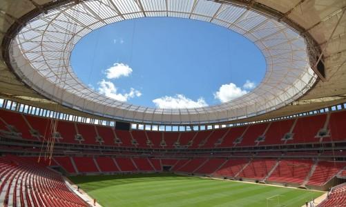 Estádio Nacional de Brasília Mané Garrincha (Marcello Casal Jr./Agência Brasil)