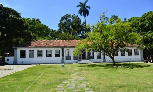O Engenho Nossa Senhora da Conceição da Lagoa é datado de 1576, percente ao Jardim Botânico do Rio de Janeiro e funciona no local o centro de visitantes do parque(Tomaz Silva/Agência Brasil)