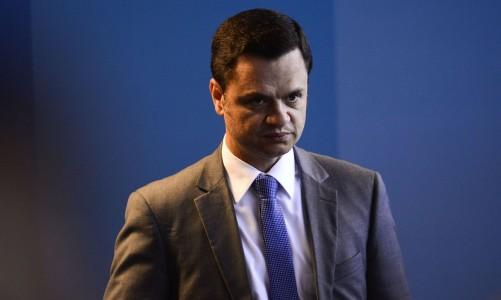 O ministro da Justiça e Segurança Pública, Anderson Torres, durante o lançamento da Campanha Nacional de Coleta de DNA de Familiares de Pessoas Desaparecidas.