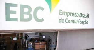 Fachada da EBC