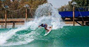 LEMOORE, CA, UNITED STATES - JUNE 18: Filipe Toledo of Brazil surfing in Heat 4 of the Qualifying Round of the Surf Ranch Pro presented by Adobe on JUNE 18, 2021 in Lemoore, CA, United States. (Photo by Pat Nolan/World Surf League)