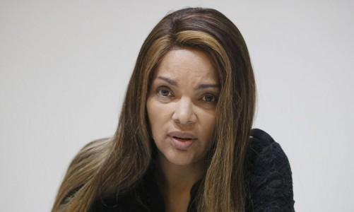 A deputada federal Flordelis, fala sobre a morte de seu marido, o pastor Anderson do Carmo.