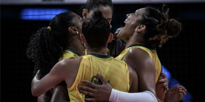 Liga das Nações: Brasil termina 1ª fase com vitória e enfrenta Japão