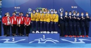 Ceremony Awards, Rhythmic Gymnastics | Gymnastics Pan American Championships Rio2021 | Jun12 | Rio de Janeirio, Brazil | Photo: Ricardo Bufolin / Panamerica Press / CBG