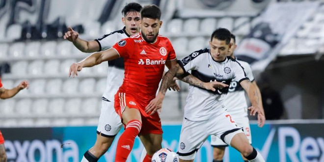 Libertadores: Internacional fica no 0 a 0 com Olimpia