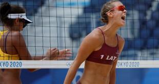 Vôlei de praia: Ana Patricia e Rebecca perdem para dupla da Letônia