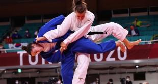 Mayra Aguiar perde para alemã e segue para repescagem no judô