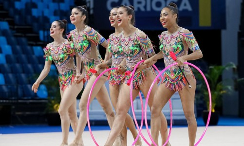 Brazil, Rhythmic Gymnastics | Gymnastics Pan American Championships Rio2021 | Jun13 | Rio de Janeirio, Brazil | Photo: Ricardo Bufolin / Panamerica Press / CBG