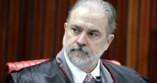 Representante do Ministério Público, Augusto Aras  durante sessão plenária do TSE. Brasília-DF, 02/04/2019 Foto: Roberto Jayme/ Ascom /TSE