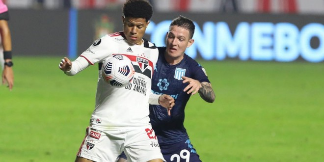 São Paulo fica no 1 a 1 com o Racing pela Libertadores