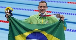 Fernando Scheffer.. Jogos Olimpicos, Tokyo 2020. 27 de Julho de 2021, Toquio, Japao. Foto: Satiro Sodré/SSPress/CBDA