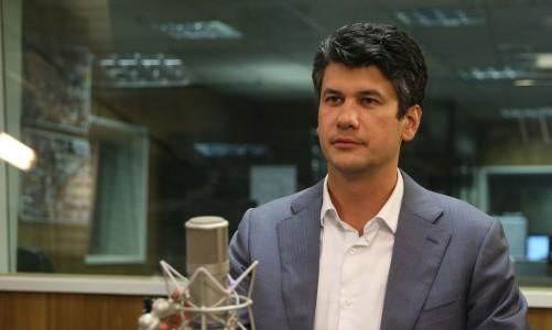 O presidente do BNDES, Gustavo Montezano, participa do programa A Voz do Brasil