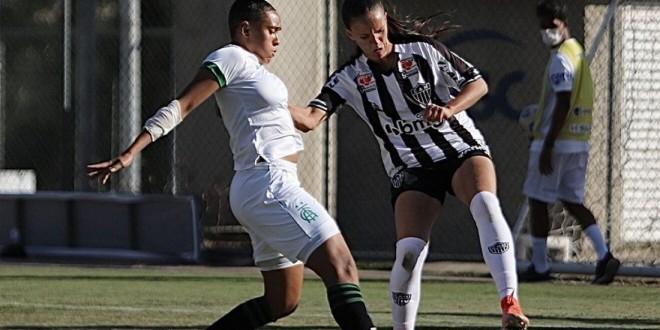 Atlético-MG segura América-MG e sobe à elite do Brasileirão Feminino